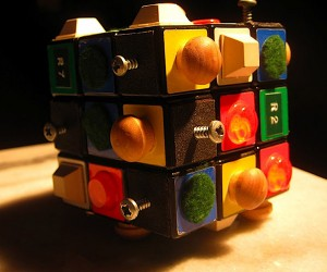 The Tactile Rubik's Cube for the Blind