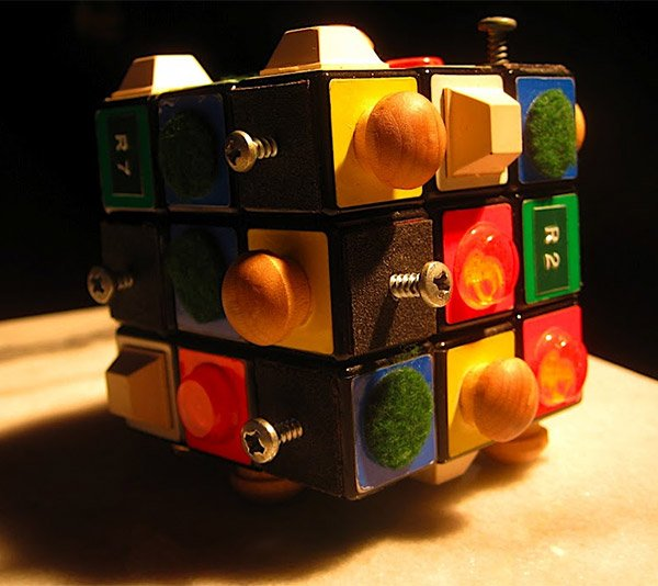 rubiks cube for blind