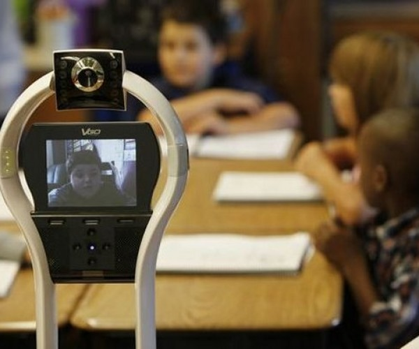 Allergic Second-Grader Sends Robot Avatar to School in His Place