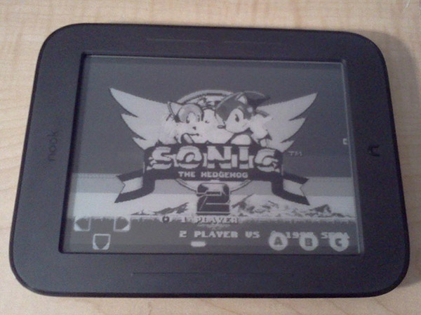 sega genesis nook simple touch