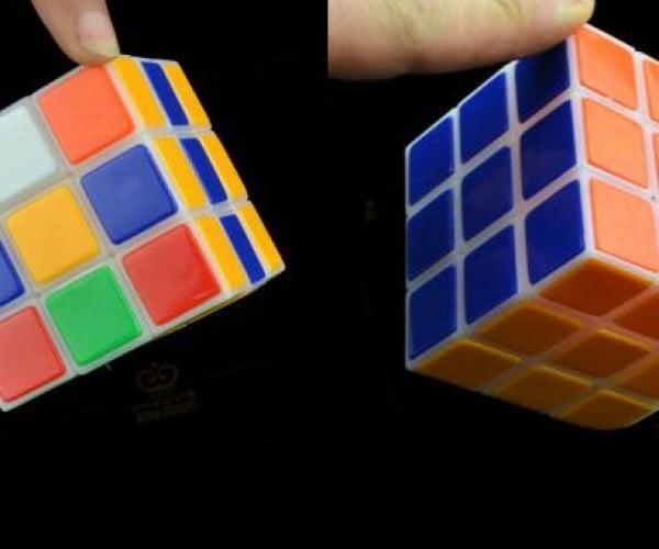 Self-Solving Rubik's Cube Seems Like Magic