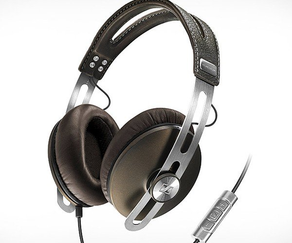 Sennheiser Momentum Headphones: Wrap Your Ears in Leather and Steel