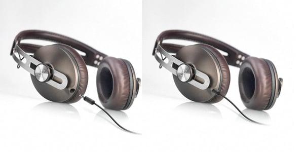 sennheiser momentum headphones leather pittards steel
