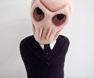 Doctor Who Silence Plush, Cuddliness Will Fall
