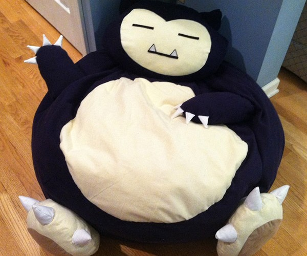 You'll Be Snoring on this Pokémon Snorlax Bean Bag