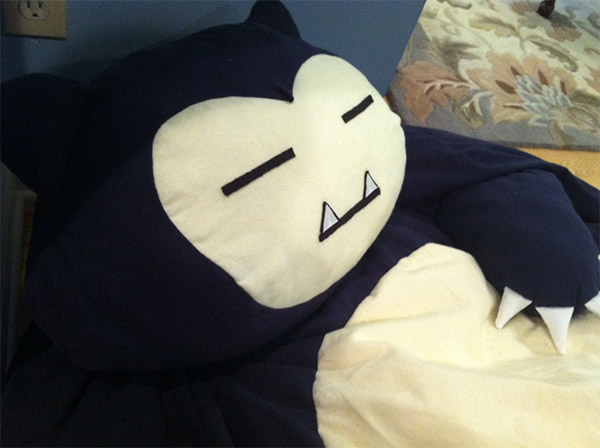 Snorlax Bean Bag 2