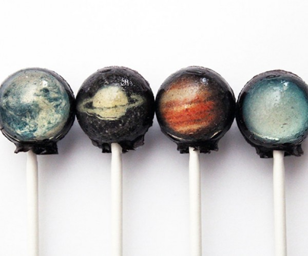 Solar System Lollipops: Eat the Planets! And Pluto.