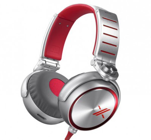 sony x factor headphones over ear side