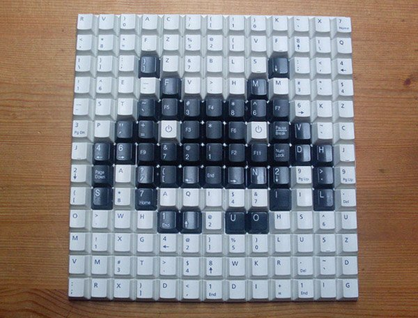 space invaders keyboard 2