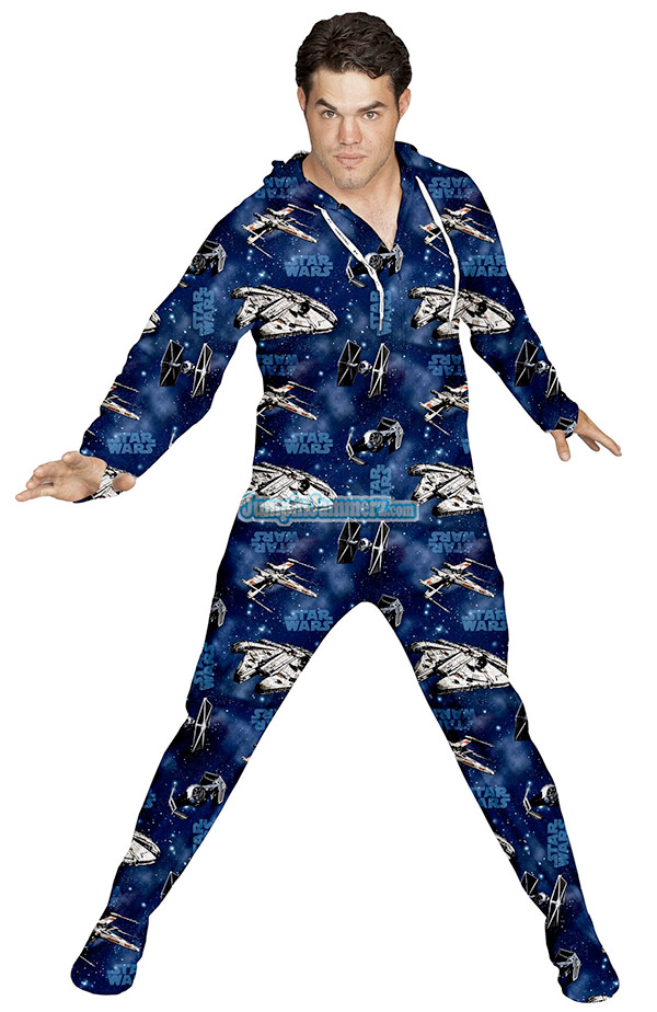 Star Wars Pajamas and Underwear We have no doubt that those Jedi robes can be pretty breezy, but when you're lounging around the house or getting ready for bed, these Star Wars Pajamas and Underwear are still the most comfortable way to go.