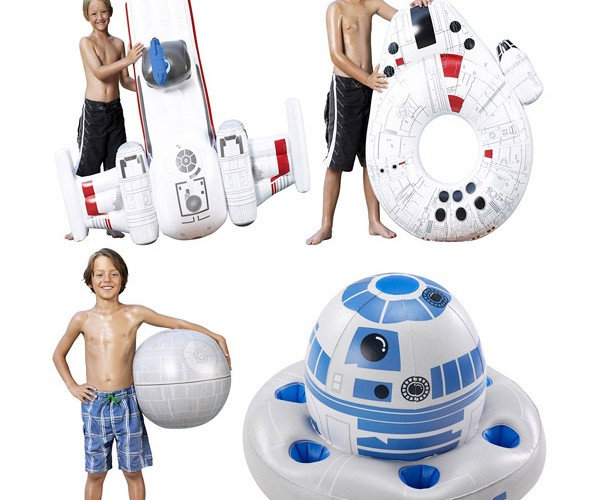 Inflatable Star Wars Pool Toys Perfect for Floating in the Dagobah Swamp
