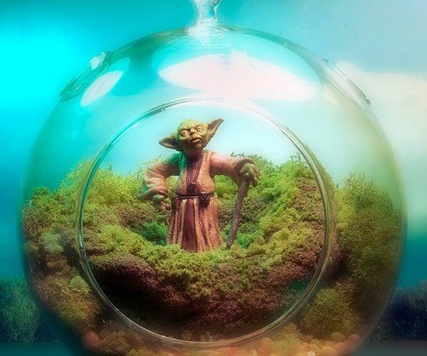 Miniature Star Wars Terrariums Land You on Tatooine, Endor, Dagobah, Where's My Hoth Snowglobe?