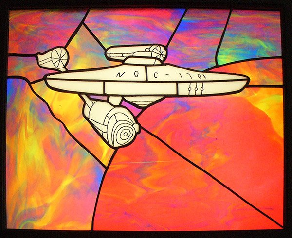 starship_enterprise_stained_glass
