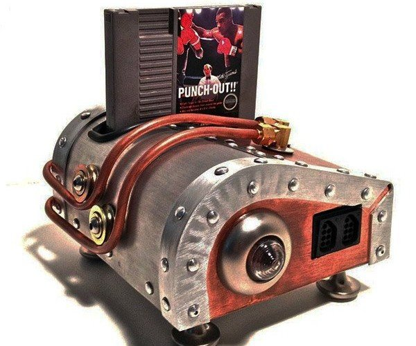 Steampunk NES Delivers a Knock-Out Punch