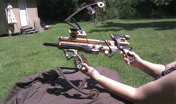 steampunk crossbow