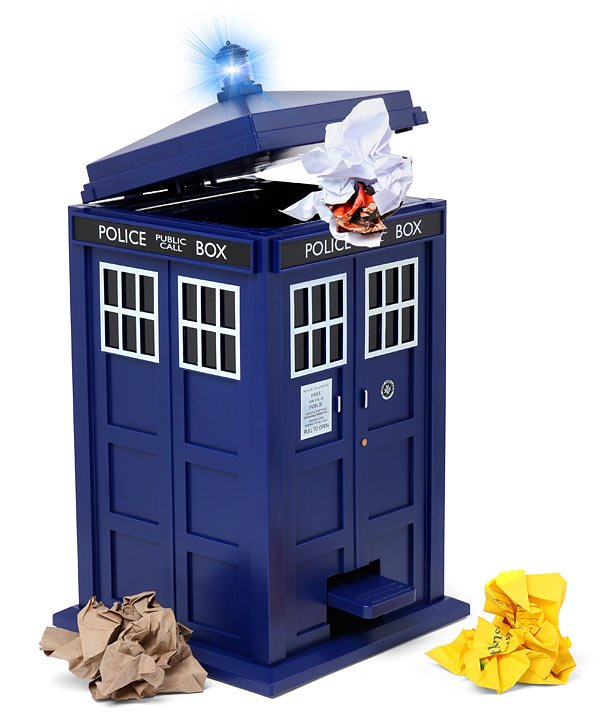 tardis doctor who trash can 2