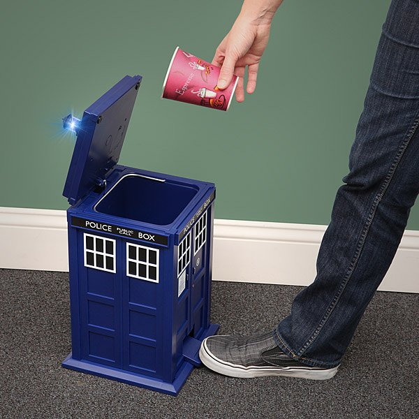 tardis doctor who trash can