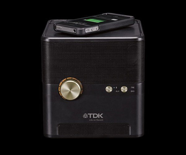 TDK Wireless Charging Speaker: Play & Charge At The Same Time