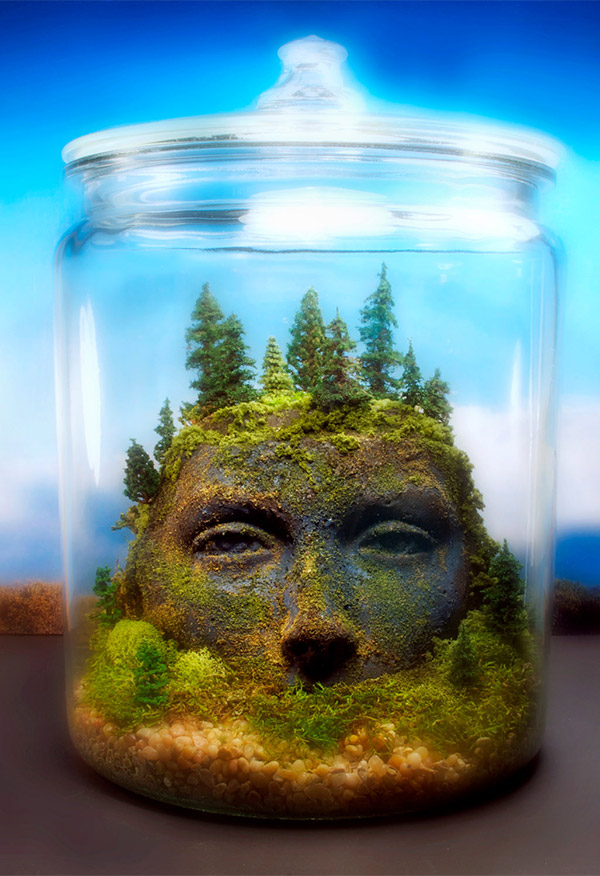 terrarium ancient goddess