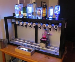 The Inebriator Robot Bartender Silently Mixes Drinks, Asks for No Tips