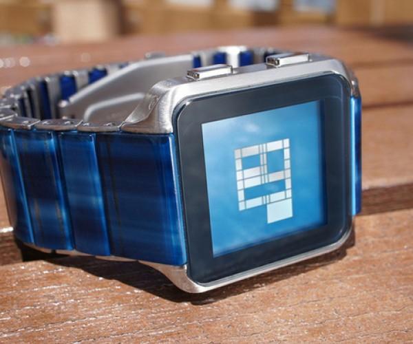 Tokyoflash Kisai Logo Watch: It's Binary Time