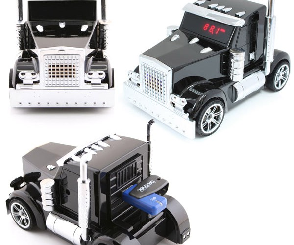 Truck-Shaped Media Player: Looks Like We've Got Us a Convoy