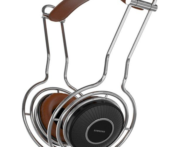 Samsung VOLVE Headphones Concept: A Bit of the Old, A Bit of the New