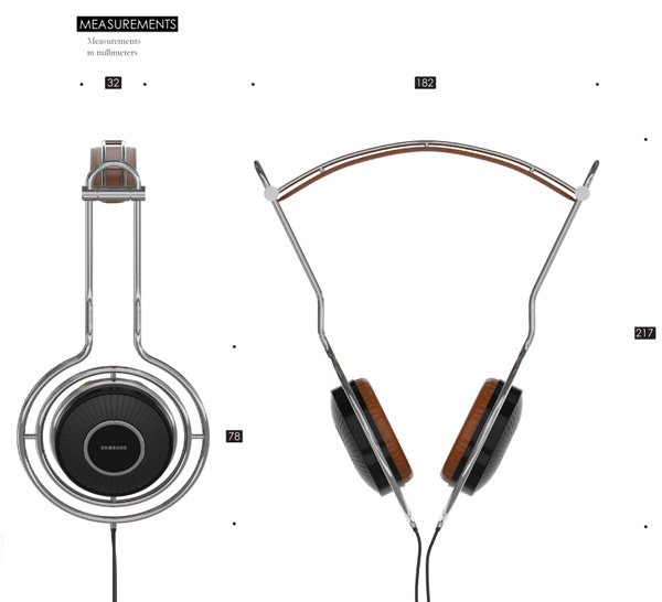 volve headphones over ear controls dimensions