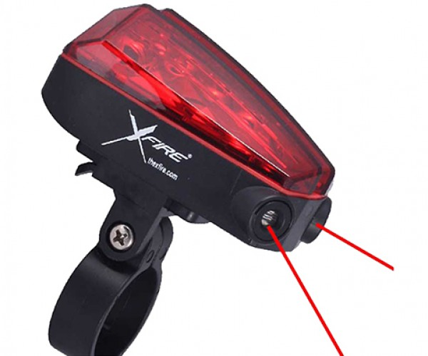 xfire bike light laser 2