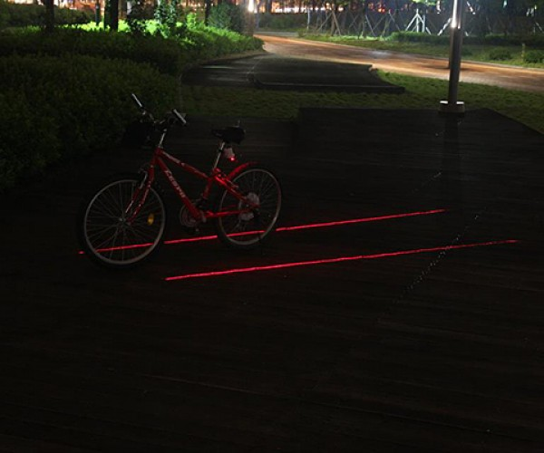 xfire bike light laser 3