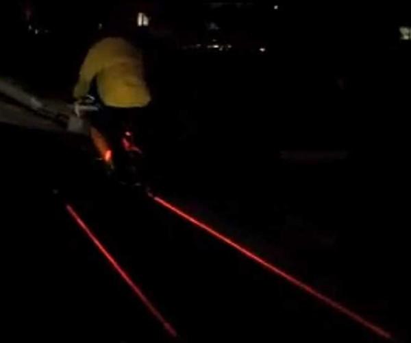 xfire bike light laser 4