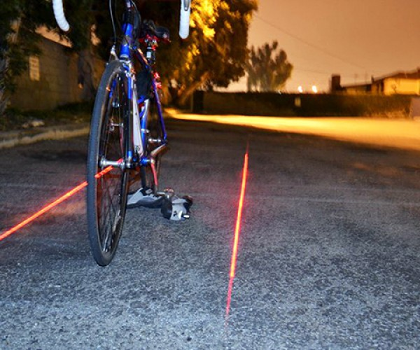 xfire bike light laser 5
