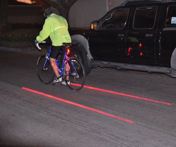 Xfire Safety Light Beams Your Own Bike Lane