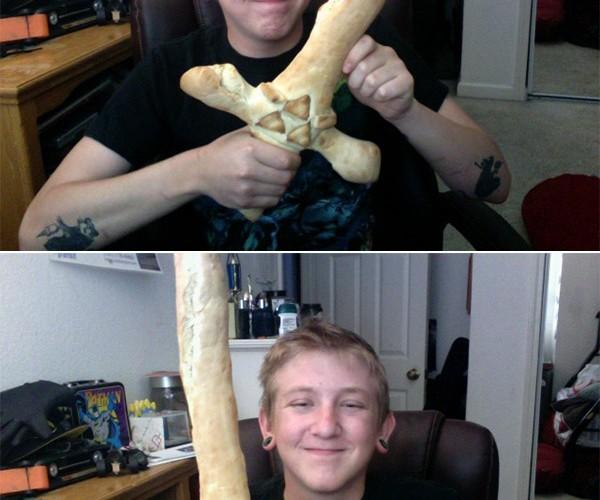 Zelda Breadstick Sword: It's Dangerous to Go Alone, Eat This!