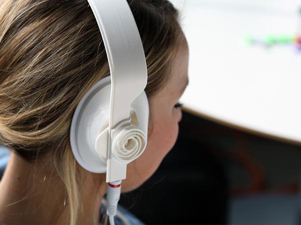 1330 3d printed headphones by teague labs