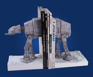 AT-AT Bookends for Late Night Reading on Hoth