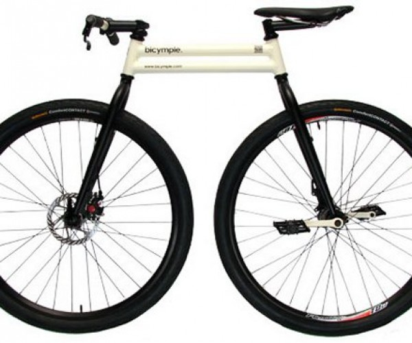 The Bicymple is as Simple as a Bike Gets