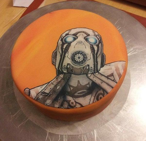 Borderlands Psycho Cake