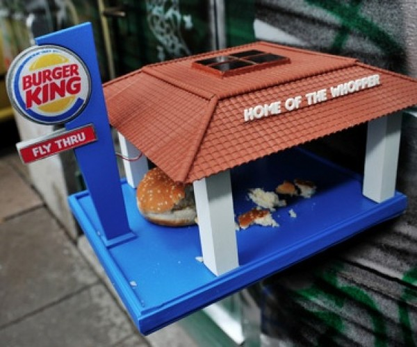 Burger King 'Fly Thru' Now Serving Up Fast Food for Birds