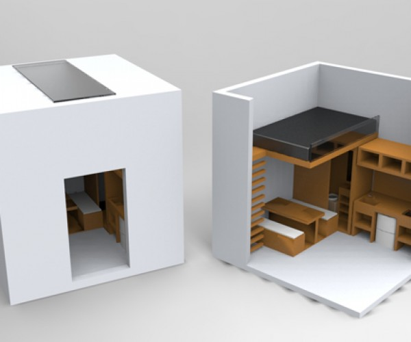 Could You Live in a 3×3 Meter Space? This Cube Shows You How You Can!