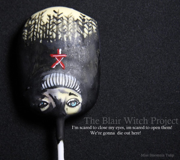 Horror Cake Pops Blair Witch