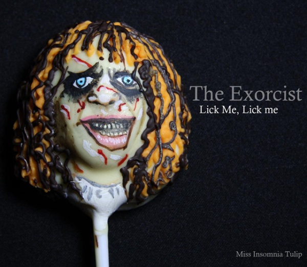 Horror Cake Pops Excorcist
