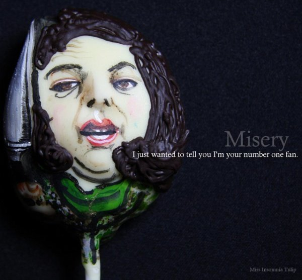 Horror Cake Pops Misery