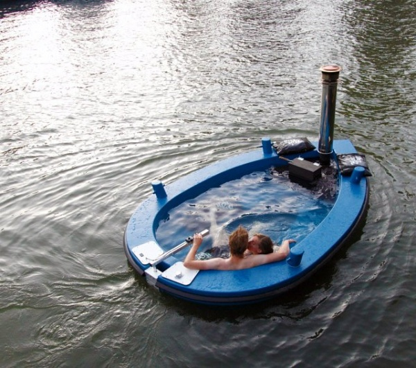 Hot Tub Tug Boat