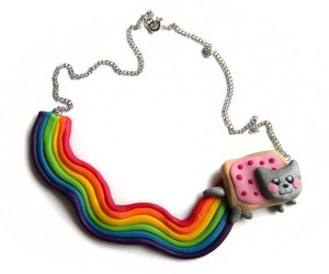 Nyan Cat Necklace Poops a Rainbow of Awesome Around Your Neck
