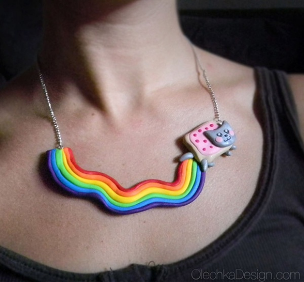 Nyan Cat Necklace1