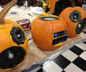 Bumpin' Pumpkin Sound System is Perfect for Halloween Parties