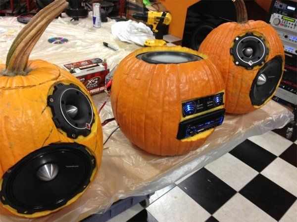 how to fix pumkin audio sond