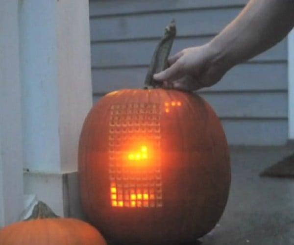 Pumpktris: Now You Can Play Tetris on a Pumpkin