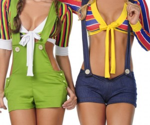 Skimpy Sesame Street Costumes: Slutty Day, Sweepin' the Clothes Away…